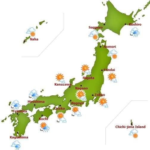 Quel temps fait-il au Japon en septembre?